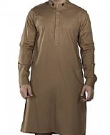 Brown Men Shalwar Kameez