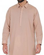 Peach Men Shalwar Kameez