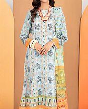 Baby Blue Lawn Suit- Pakistani Designer Lawn Dress