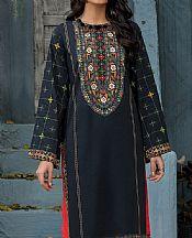 Black Lawn Kurti- Pakistani Lawn Dress