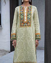 Ash White Lawn Kurti- Pakistani Designer Lawn Dress