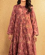 Mauve Jacquard Kurti- Pakistani Winter Clothing