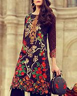 Black Lawn Suit- Pakistani Designer Lawn Dress