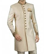 Modern Sherwani 82- Pakistani Sherwani Suit for Groom