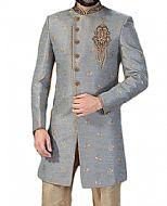 Modern Sherwani 84c- Pakistani Sherwani Suit for Groom