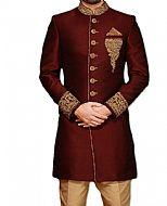 Modern Sherwani 107- Pakistani Sherwani Suit for Groom