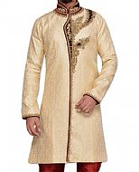 Modern Sherwani 113- Pakistani Sherwani Suit for Groom