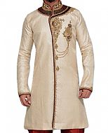 Modern Sherwani 114- Pakistani Sherwani Dress