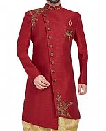 Modern Sherwani 120- Pakistani Sherwani Dress