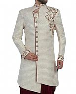Modern Sherwani 121- Pakistani Sherwani Suit for Groom