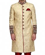 Modern Sherwani 127- Pakistani Sherwani Suit for Groom
