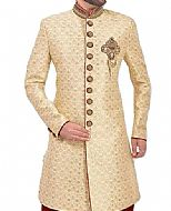 Modern Sherwani 129- Pakistani Sherwani Suit for Groom