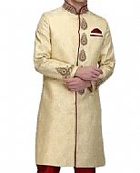 Modern Sherwani 130- Pakistani Sherwani Dress