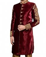 Modern Sherwani 136- Pakistani Sherwani Dress