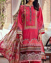 Crimson Lawn Suit- Pakistani Lawn Dress