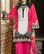 Magenta Cambric Suit- Pakistani Winter Clothing