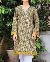 Yellow Lawn Kurti- Pakistani Lawn Dress