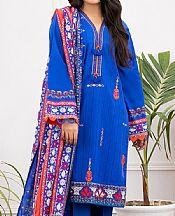 Dark Blue Lawn Suit- Pakistani Lawn Dress