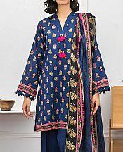 Royal Blue Lawn Suit- Pakistani Lawn Dress