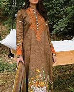 Beige Cottel Linen Suit- Pakistani Winter Clothing