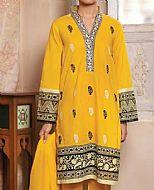 Mustard Lawn Suit- Pakistani Lawn Dress