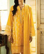 Gold Yellow Lawn Suit- Pakistani Lawn Dress