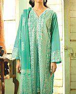 Sea Green Lawn Suit- Pakistani Designer Lawn Dress