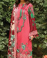 Rose Pink  Linen Suit- Pakistani Winter Dress