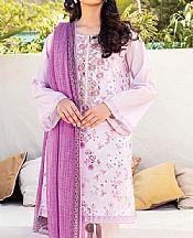 Lilac Lawn Suit- Pakistani Lawn Dress
