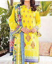 Yellow Lawn Suit- Pakistani Lawn Dress
