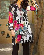 Black Pima Cotton Kurti