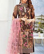 Chocolate Chiffon Suit- Pakistani Designer Chiffon Suit