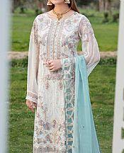 White Chiffon Suit- Pakistani Chiffon Dress