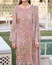 Baby Pink Chiffon Suit- Pakistani Designer Chiffon Suit
