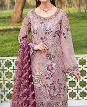 Baby Pink Organza Suit- Pakistani Designer Chiffon Suit