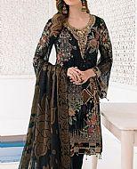 Charcoal Chiffon Suit- Pakistani Designer Chiffon Suit