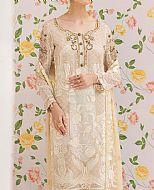 Ivory Chiffon Suit- Pakistani Designer Chiffon Suit