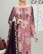 Tea Pink Chiffon Suit- Pakistani Chiffon Dress