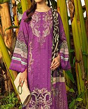 Plum Lawn Suit- Pakistani Lawn Dress