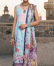 Baby Blue Lawn Suit- Pakistani Lawn Dress