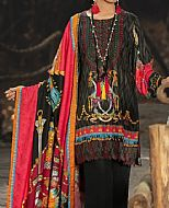 Black Cottel Suit- Pakistani Winter Clothing