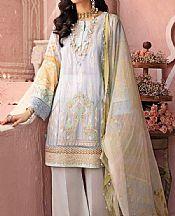 Baby Blue Lawn Suit- Pakistani Lawn Dress