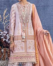 Lilac/Tea Pink Lawn Suit- Pakistani Lawn Dress