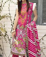 Hot Pink Lawn Suit