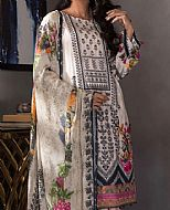 Off-White Twill Cotton Suit- Pakistani Winter Dress