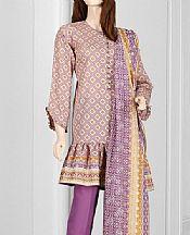Mauve Lawn Suit- Pakistani Designer Lawn Dress