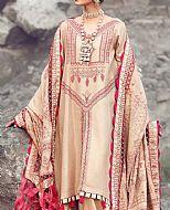 Beige Jacquard Suit- Pakistani Winter Clothing