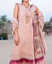 Tea Pink Lawn Suit- Pakistani Designer Lawn Dress