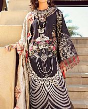 Black Lawn Suit- Pakistani Lawn Dress
