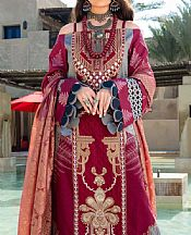 Crimson Lawn Suit- Pakistani Lawn Dress
